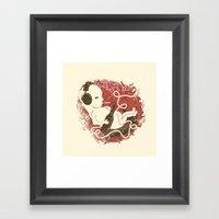Bad Baby Framed Art Print