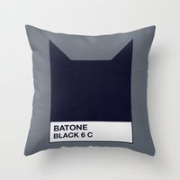 BATONE Throw Pillow
