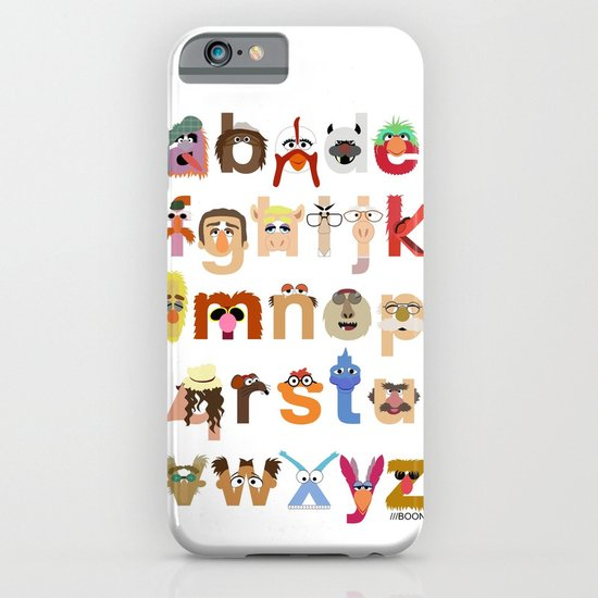 The Great Muppet Alphabet (the sequel) iPhone & iPod Case