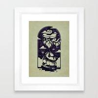 Time Heals Framed Art Print