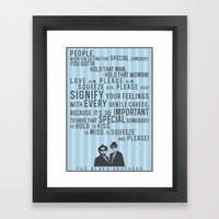 The Blues Brothers Every… Framed Art Print