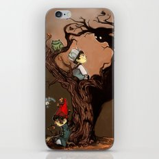 Over The Garden Wall- Wirt, Greg, Beatrice, and The Beast iPhone & iPod Skin