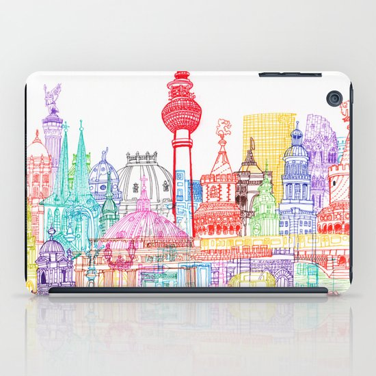 Berlin Towers iPad Case