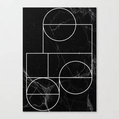 Marble Line #2 Canvas Print