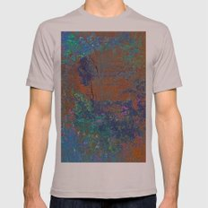 Natural Color Mens Fitted Tee Cinder SMALL