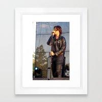 Julian - The Strokes Framed Art Print