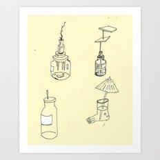 Things Art Print