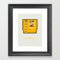 Legend Of Zelda Cartridg… Framed Art Print