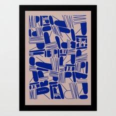 MURO STACK! Art Print
