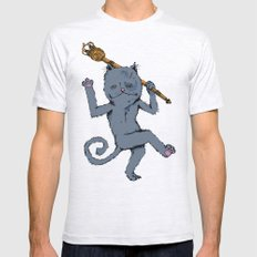 King of the Cats: Tom Tildrum Mens Fitted Tee Ash Grey SMALL