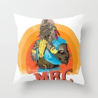 Mr.C Throw Pillow