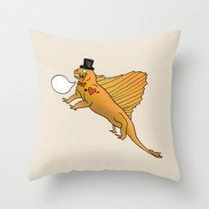 Dino Bros - Lizard Throw Pillow
