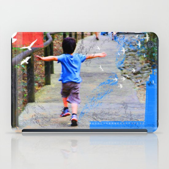 learning to fly 02 iPad Case