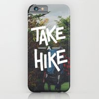 iPhone & iPod Case featuring Take A Hike by Zeke Tucker