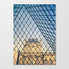In The Pyramid Canvas Print