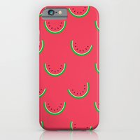 Fun Watermelons Pattern - Summer time iPhone 6 Slim Case