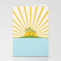 Summer Sun Stationery Cards