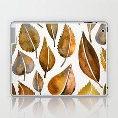 Rusty Leaves Laptop & iPad Skin