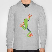 Green Tree Frog Hoody