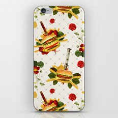 cheeseburger in gangstas paradise iPhone & iPod Skin