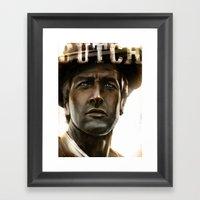 Butch '69 Framed Art Print