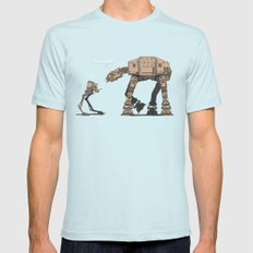 I'm Your Father Mens Fitted Tee Light Blue SMALL