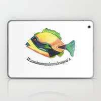 H is for Humuhumunukunukuapua'a Laptop & iPad Skin