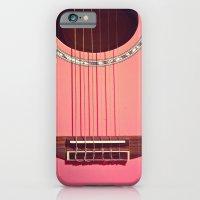 Pink Guitar iPhone 6 Slim Case