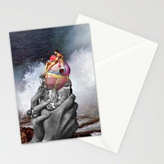 Heart on the Rocks Stationery Cards