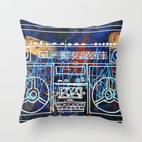 Malicious Melody Throw Pillow
