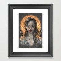 Katniss Framed Art Print