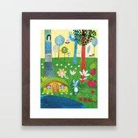 The little mouse Framed Art Print