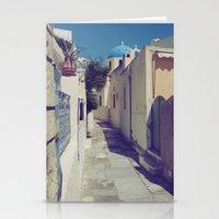 Santorini Walkway Stationery Cards