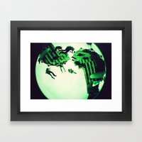 Swings  Framed Art Print