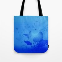 In The Deep Blue Tote Bag