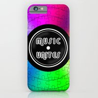 iPhone & iPod Case featuring music unites by mauro mondin