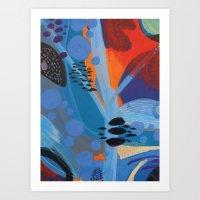 Drops II Art Print