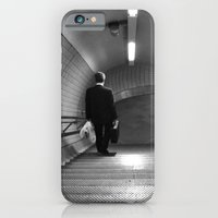Empty London Underground stairs iPhone 6 Slim Case