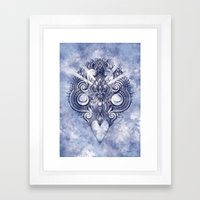 Meditation III Framed Art Print