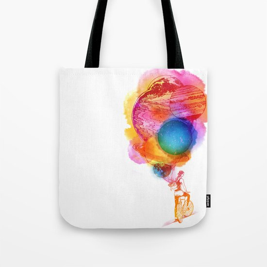Travel Space Tote Bag