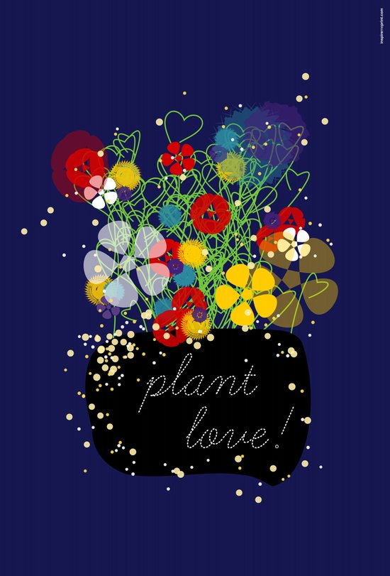 Plant Love! Canvas Print