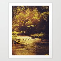 Go With The Flow... Art Print