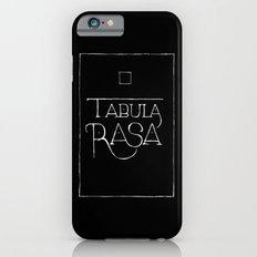 Tabula Rasa (black) iPhone 6 Slim Case
