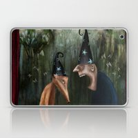 Trouble at the Magic Show Laptop & iPad Skin