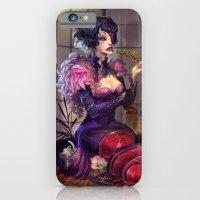 iPhone & iPod Case featuring Ephemeral Hostess Girl by Zollo.x.Mishin