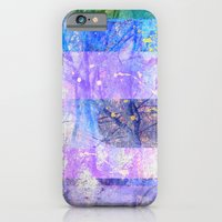 Glitched Tree Canopy iPhone 6 Slim Case