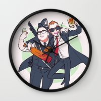 Three Flavours Cornetto Wall Clock