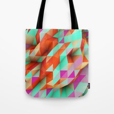 Polygons Sphere Abstract Tote Bag
