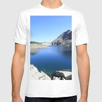 Anna Lake Mens Fitted Tee White SMALL