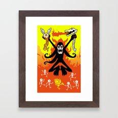Satanic Framed Art Print